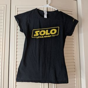 Star Wars Solo T Shirt
